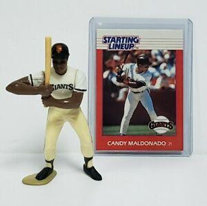 CANDY MALDONADO San Francisco Giants MLB Starting Lineup SLU 1988 Figure & Card