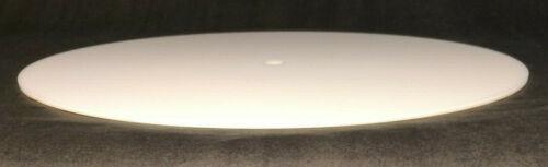 """New 9.5/"""" Round Acrylic Fabric Lamp Shade Diffuser For Openings Of 10/"""" #LD340"""