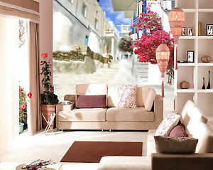 3d Commune Fleur 17 Photo Papier Peint En Autocollant Murale Plafond Chambre Art