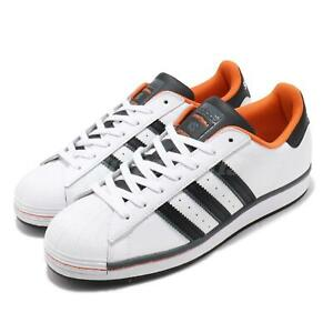 adidas Originals Superstar vs. Streetball White Black Orange Men Classic FV8271