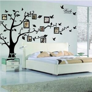 Wall Family Tree Photo Frame Home 3d Decor Sticker Decoration Diy