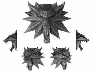 Witcher 3 Wild Hunt Wand-Skulptur Wolf 15 x 15 cm - Dark Horse