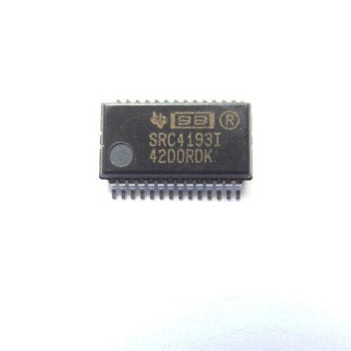 212 Ksps 28-Pin SSOP SRC4193IDB SRC4193I Convertidor de frecuencia de muestreo marcado 24 Bit