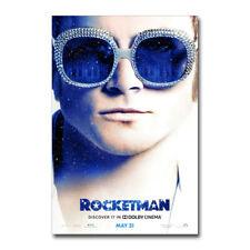 A-54 Rocketman Music Dexter Fletcher Taron Egerton Elton John24x36canvas Poster
