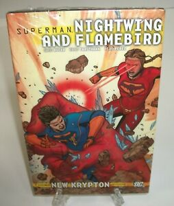 Superman-Nightwing-and-Flamebird-Vol-2-DC-Comics-Hard-Cover-HC-New-Sealed