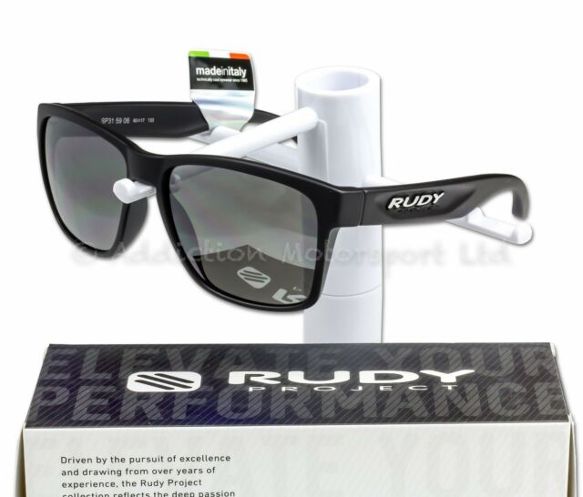 5a4ce59f05 Rudy Project Lifestyle Sunglasses SPINHAWK Black Matt Polar 3fx Grey ...