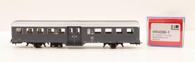 "HR4298-1 Rivarossi Ho Transport FS "" Chandra "" À 2 Axes Gris Ardoise 2 Classe"