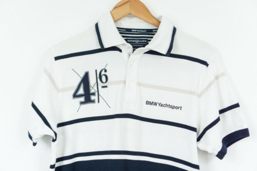 Henri Lloyd Polo Shirt BMW Yacht Sport Striped Men