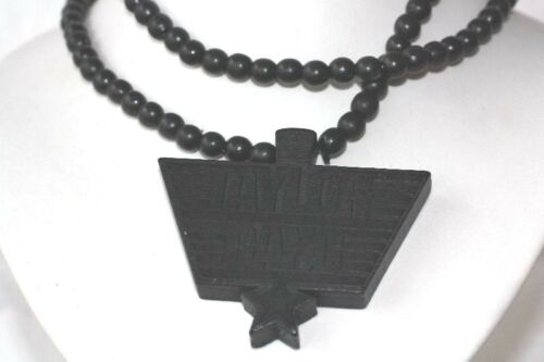 Emeco Holzkette  Hiphop NY Style Wood Classics Necklace Kette Holz  WN-100