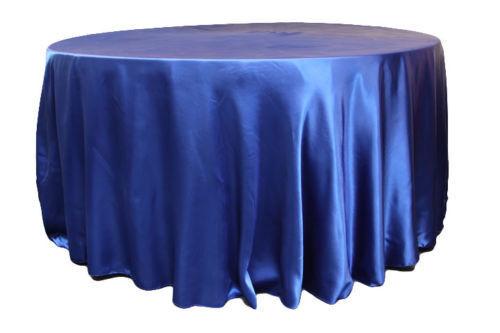 """10 Pack 132/"""" Pouce Rond Satin Nappe 21 Couleurs Table De Mariage Banquet"""