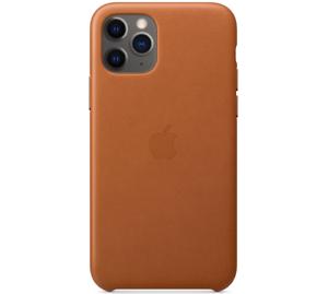 Apple-Original-Funda-Cuero-Leather-Case-para-el-iPhone-11-Pro-Marron-caramelo