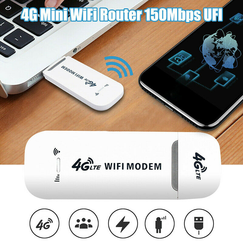 Ciglow 4G LTE USB Stick Not Suitable for America 150Mbps Global WiFi Hotspot Wireless Network Adapter Network Card USB Router