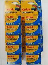 KODAK Ultramax 400 ISO 135-24 Exp. 35mm Film - 10 Rolls