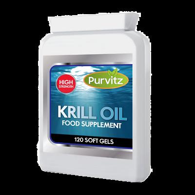 Willensstark Superba 100% Pure Red Krill Oil Capsules 500mg High Strength