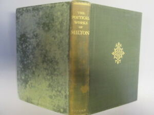Acceptable  The Poetical Works of John Milton  edited after the original texts - Ammanford, United Kingdom - Acceptable  The Poetical Works of John Milton  edited after the original texts - Ammanford, United Kingdom