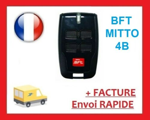 BIPPER Télécommande Telecommande BFT MITTO B RCB04 433mhz NEUF