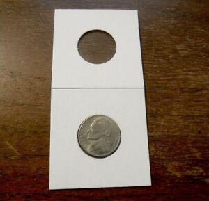 100 pcs Coin Holders 2 X 2 Cardboard Mylar Flips  Diameter 27.5mm New
