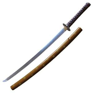 Collectibles Official Website Hand Made Japanese Samurai Katana Sword High Carbon Steel Full Tang White Fragrant Aroma