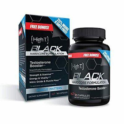High T Black - Best All Natural Testosterone Booster - Energy Booster - Bonus Si 851806004231 eBay