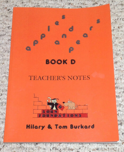 APPLES AND PEARS BOOK D Teacher's Notes  Hilary & Tom Burkard