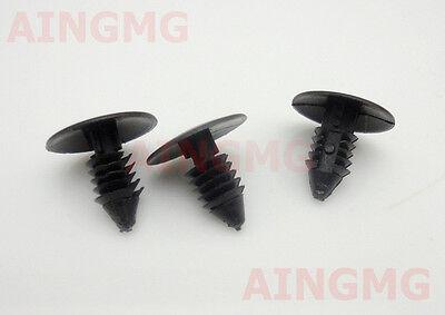 6270163 20 x GM Fender /& Bumper Shield Retainer Clip Gray Nylon Fastener 480534