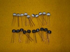 10pz Bc108 + 10pz Bc208c Nos Transistor Bc108b Bc108c Fuzz Wah Vintage Gold Pin