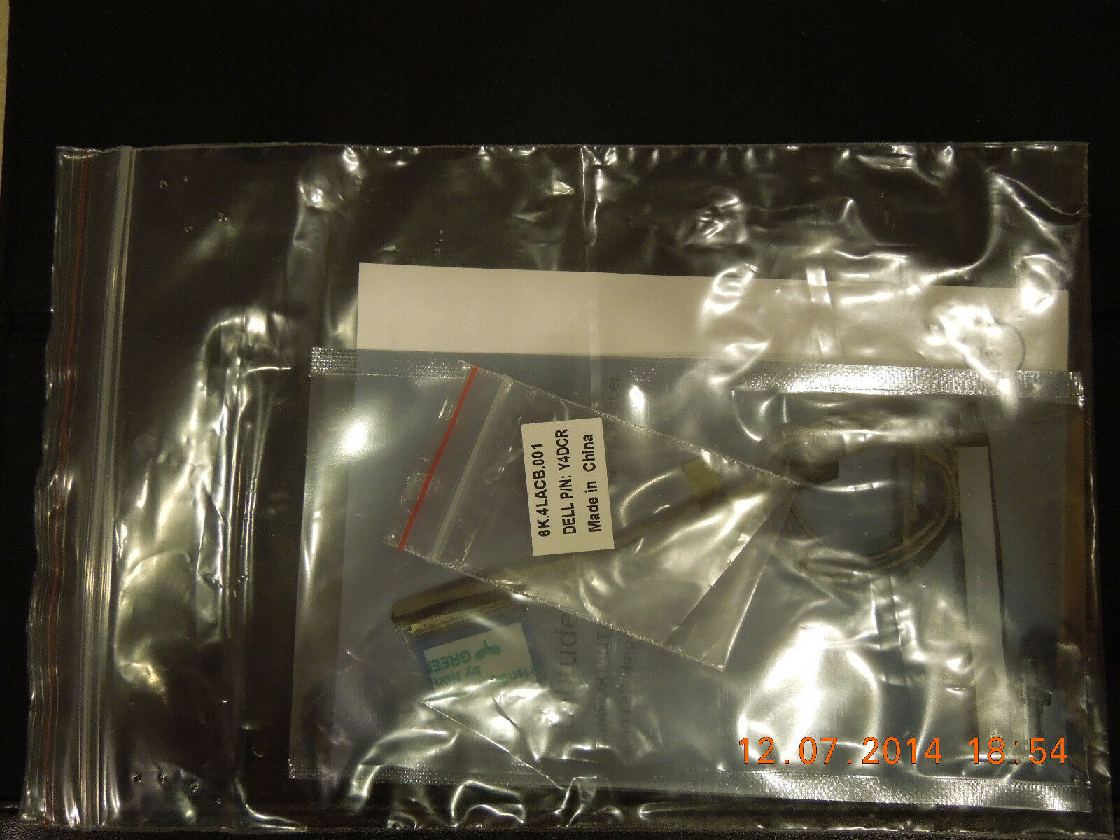 NEW Dell Latitude 3330 LCD LVDS Connector Cable /& Rubber Kit 3PYM1  Y4DCR DW61V