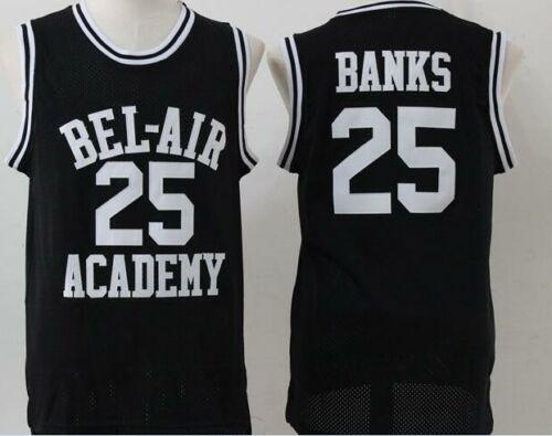 The Fresh Prince Of Bel Air Carlton Banks 25 Black Green Jersey Movie Sewn New