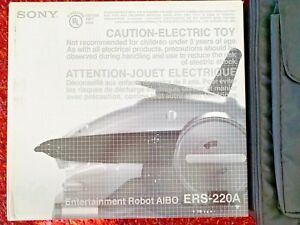 Sony-Aibo-ERS-220A-SUPER-CORE-New-Battery-Unassembled-Robot-Dog-RARE
