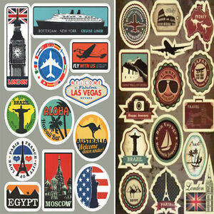 27-Retro-Vintage-Old-Fashioned-Style-Luggage-Suitcase-Travel-Stickers-Stick-On