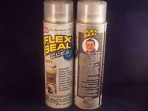 2-JUMBO-CANS-FLEX-SEAL-CLEAR-14oz-Liquid-Spray-Rubber-Sealant-As-seen-on-TV