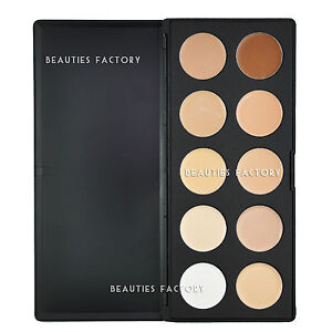 Beauties-Factory-10-Color-Camouflage-Concealer-Palette-Cream-Nature-Makeup-AZ610