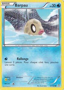 Barpau-Noir-amp-Blanc-Dragons-Exaltes-27-124-Carte-Pokemon-Francaise-Neuve
