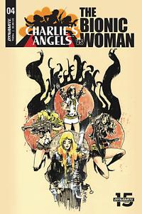 Charlies-Angels-vs-Bionic-Woman-4-Cover-B-Comic-Book-2019-Dynamite