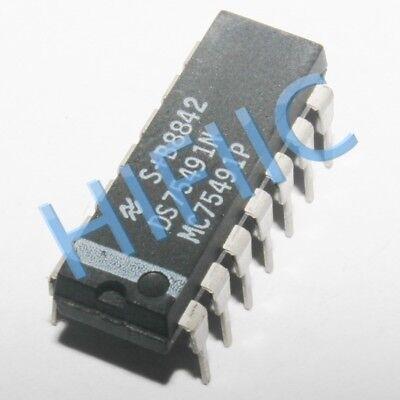 1 x DS75491N MOS-to-LED Quad Segment Driver NS DIP-14 1pcs