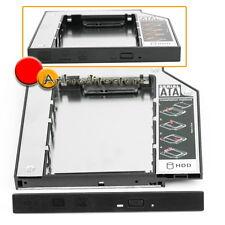 "HDD Hard Drive Caddy 2,5"" SATA SSD Universale per Laptop Notebook PC Kit Ricambi"