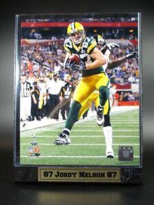 Jordy-Nelson-Green-Bay-Packers-Logo-Holz-Wandbild-30cm-Plaque-NFL-Football-Neu