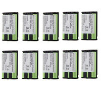 10x Ni-mh Home Phone Battery For Panasonic Hhr-p104 Hhr-p104a/1b Type 29