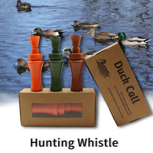 Wooden Duck Hunting Call Whistle Mallard Game Call Caller Drake Decoy Shooting Sporting Goods