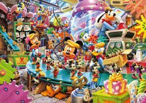 Tenyo-Disney-Jigsaw-Puzzle-disney-Mickey-039-s-Toy-Factory-300-pieces-D-300-268