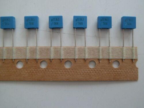 EPCOS B32529C224J289 0,22µF 63V 5/% RM5  Kondensator *10 Stück* *Neu*