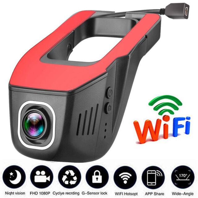 HD 1080P Hidden Wifi Vehicle Camera Car DVR Video Recorder Dash Cam Night Vision