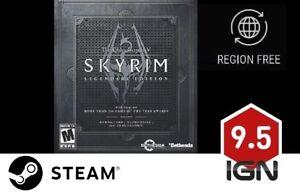 skyrim legendary edition key steam