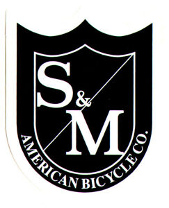 S/&M BMX Banner Black Shield