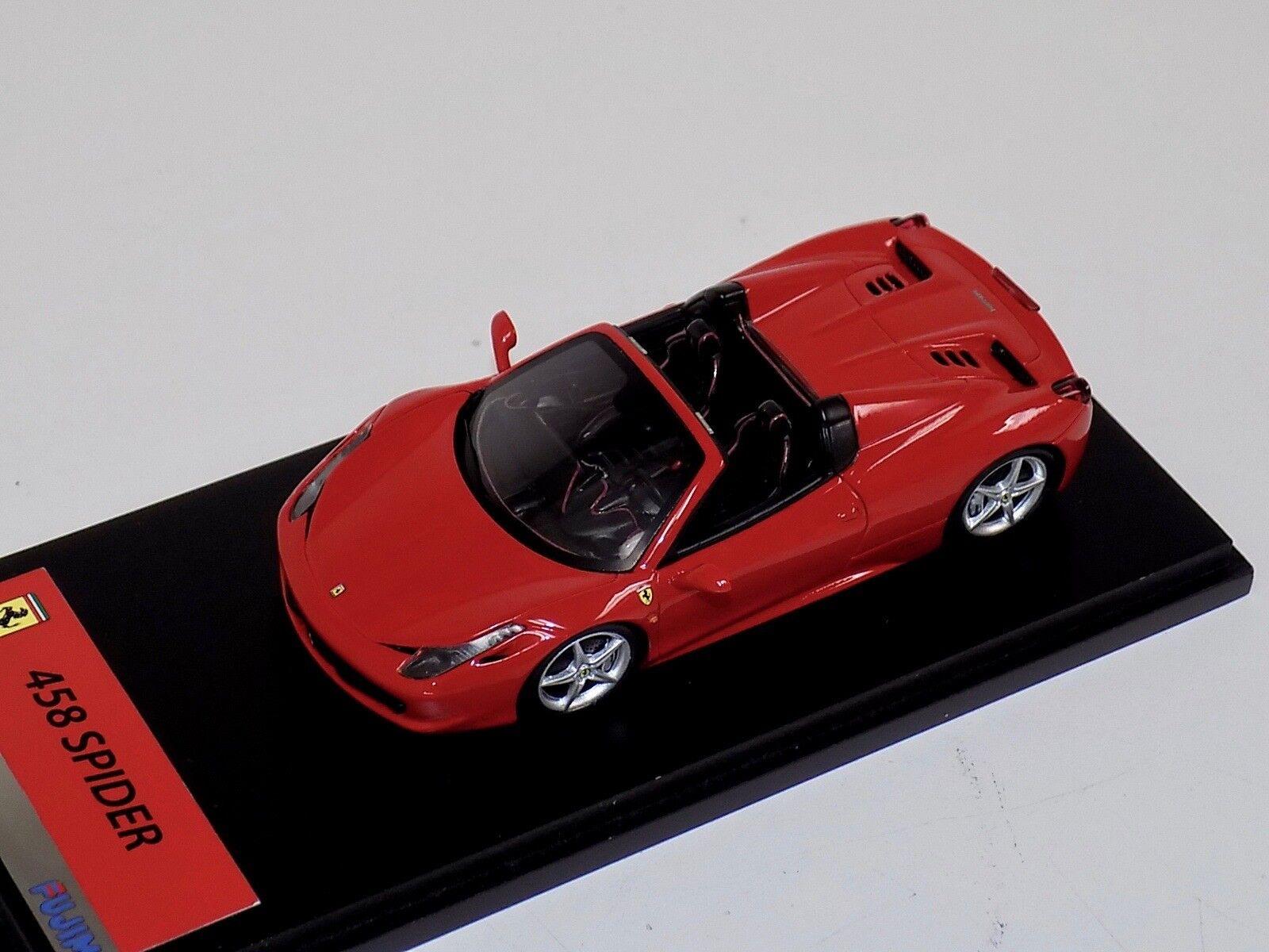 1 43 Fujimi Ferrari 458 Araña de TSM en rosso