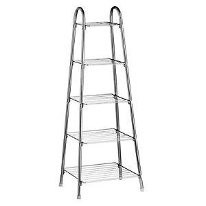 Premier-Housewares-5-piani-Frittura-Friggere-Sauce-Pan-Stand-Organizzatore-Supporto-Rack-Nuovo