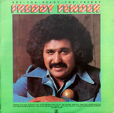 FREDDY FENDER ARE YOU READY FOR FREDDY LP UK ABCL5158 1975 Excellent