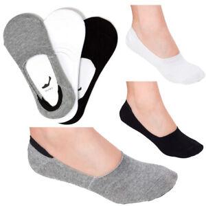 Damen-Basic-Unsichtbare-Socken-No-Show-Low-Cut-Rutschfest-mit-Silikon-Gummi-CW29