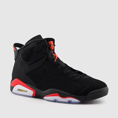 2019 Nike AIR JORDAN 6 VI RETRO OG Black INFRARED 384664 060 GS /& Men Sz:4Y-16