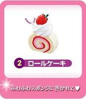 Re-ment Strawberry Mini Cake Sweets Dessert Keychain 02